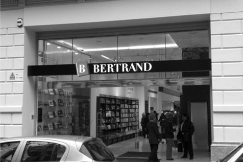 Libreria bertrand acero inoxidable